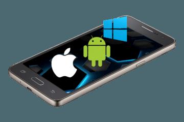 Apple, android, windows phone