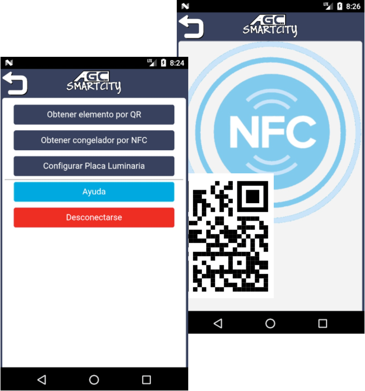 Smart City NFC