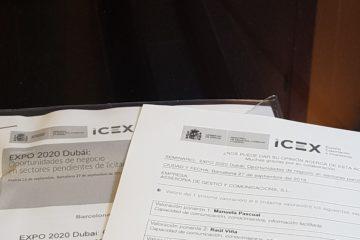 ICEX Barcelona Dubai 2020